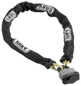 ABUS Kettenschloss Expedition-Chain 70/45/6 KS, Schwarz, 110 cm, 28679